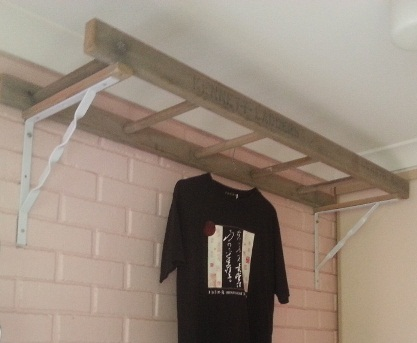 Building A Ladder Clothes Dryer
