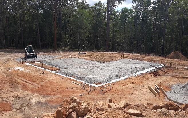 Concrete Slab Floor Construction Pictorial