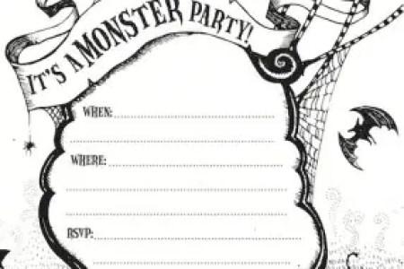 Imagenes De Free Printable Halloween Invitation Cards