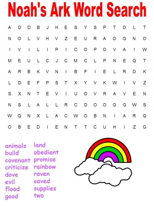 Christian Word Search Puzzles Printable