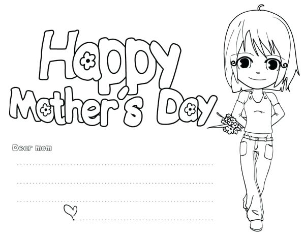 30 free and printable mothers day coloring cards, love printable coloring pages