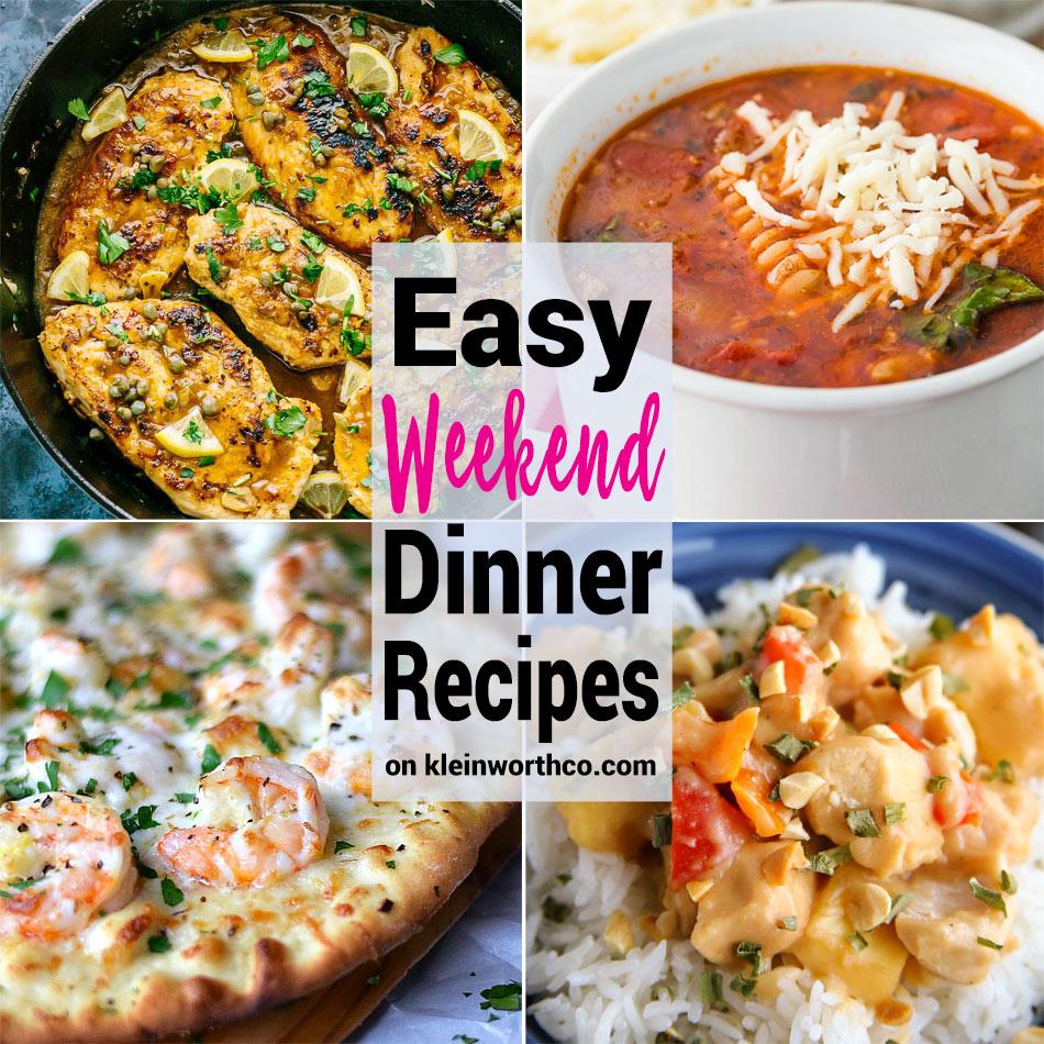 Good Easy Things Dinner