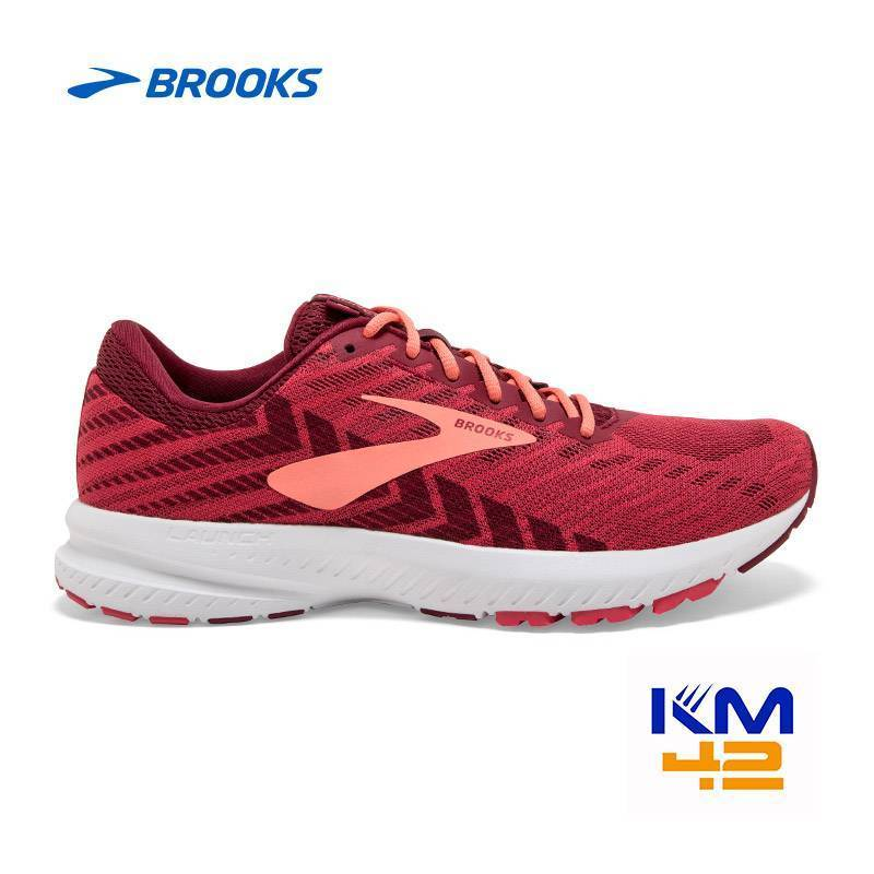 1202851B628 brooks running launch 6 donna intermedia colore rossa-rosso