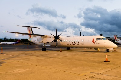 Flight Report: Island Air Dash 8 Q400 from Honolulu to Kahului