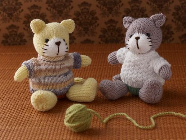 free cat knitting patterns # 23