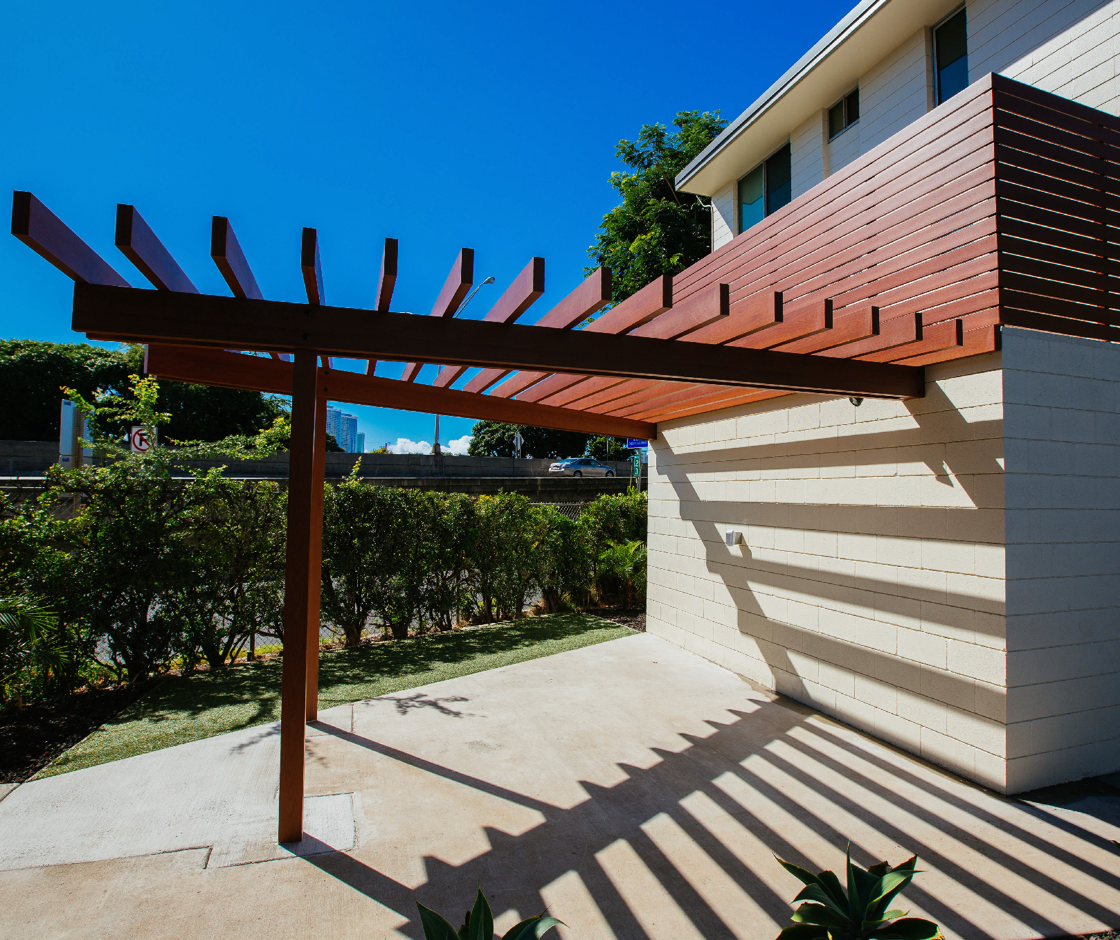 Knotwood Awnings And Pergolas That Look Like Wood Wood