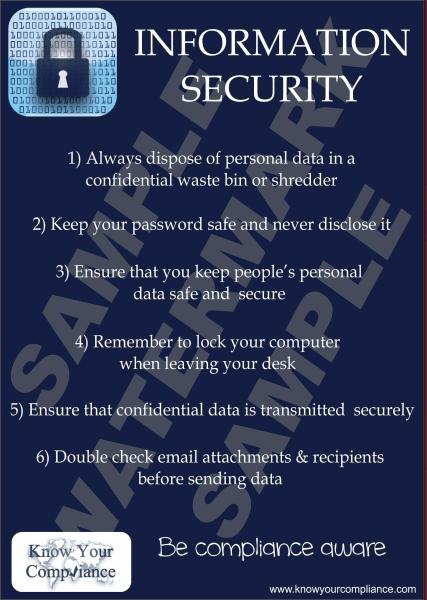 Security Management Information Risk