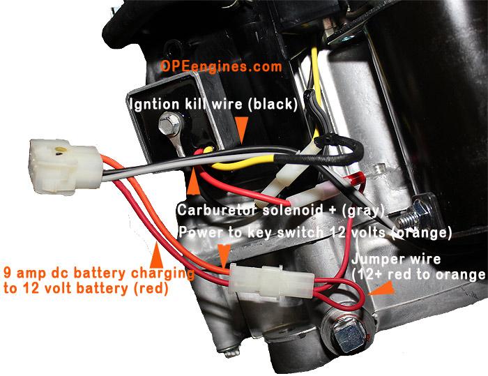 Briggs And Stratton 17 Hp Intek Engine