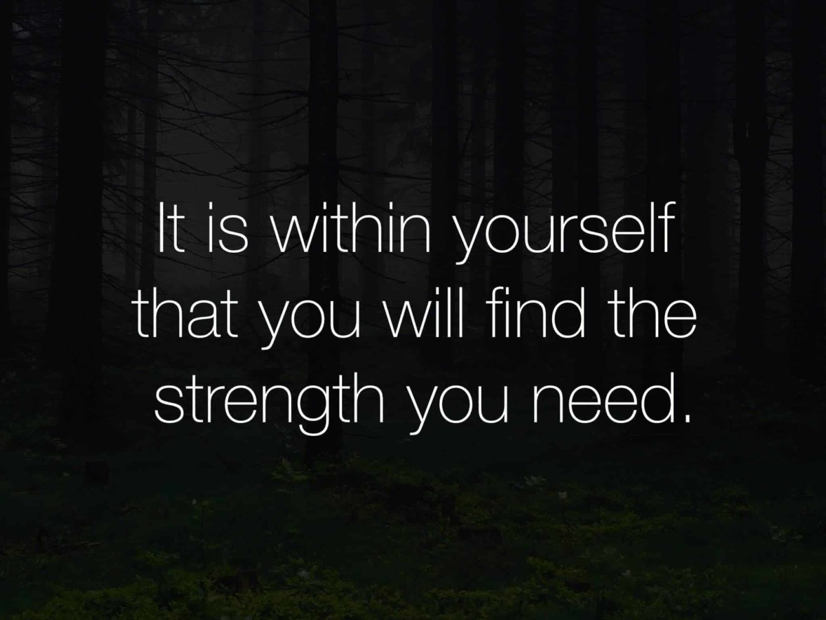 Inner Strength Quotes On Resilience
