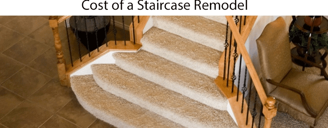 Average Staircase Remodel Cost 2020 How Much Does A New | Cost To Replace Basement Stairs | Hardwood | Stringer | Spiral Staircase | Stair Railing | Bulkhead
