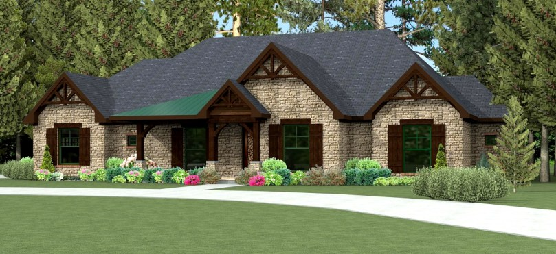 Home   Texas House Plans   Over 700 Proven Home Designs Online by     Texas House Plan U2974L