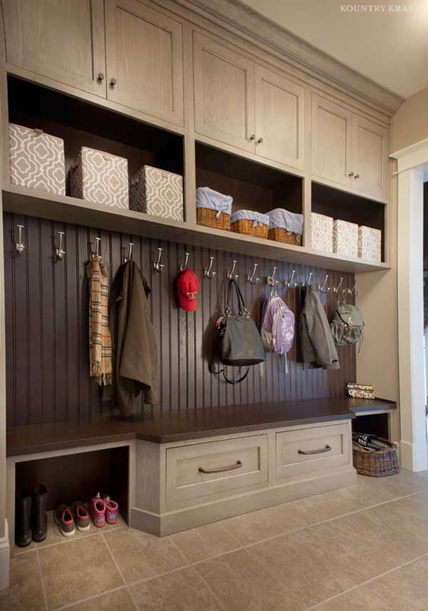 Custom Mudroom Cabinets In Ellicott City Md Kountry Kraft