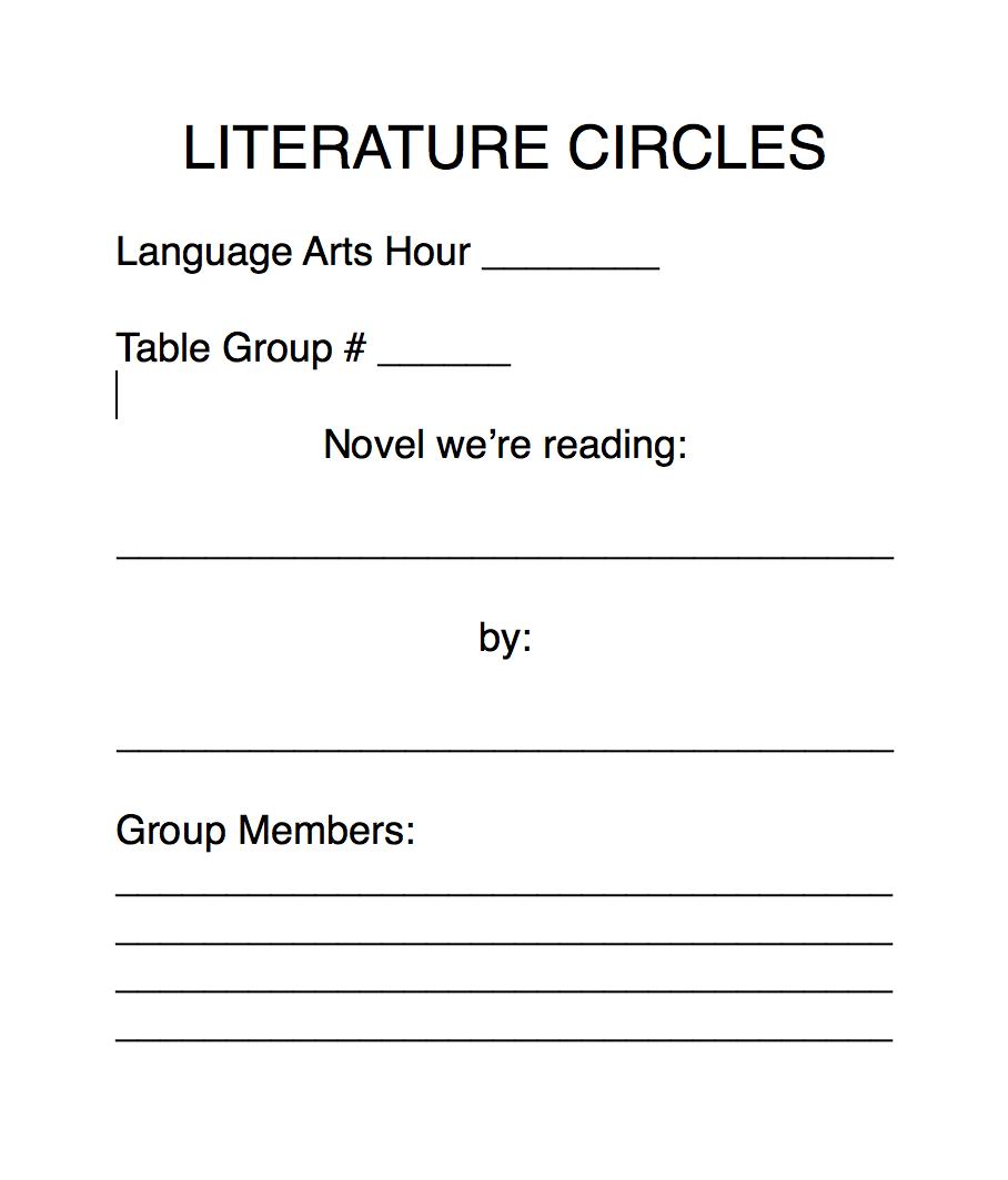 Liter Ture Circles Kristen Dembroski Ph D