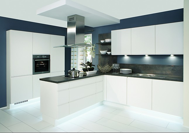 Modern Kitchen Design L Shape Island