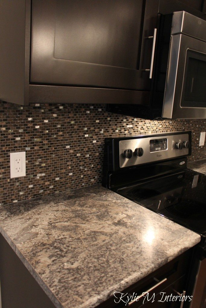 Harold Pionite Laminate Countertop Brown Mosaic Tile