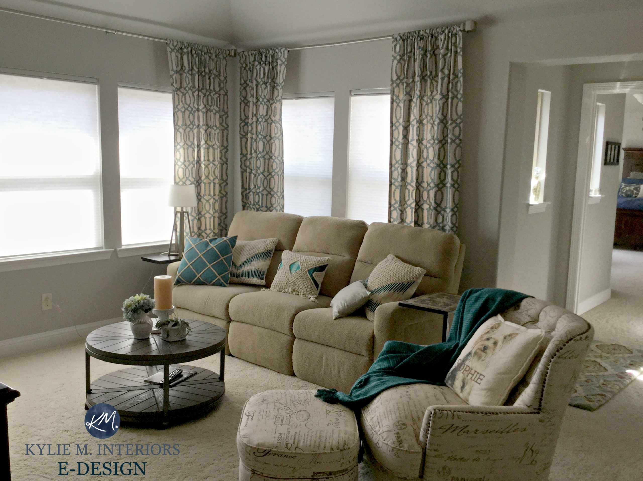 Paint Sage Green Curtains