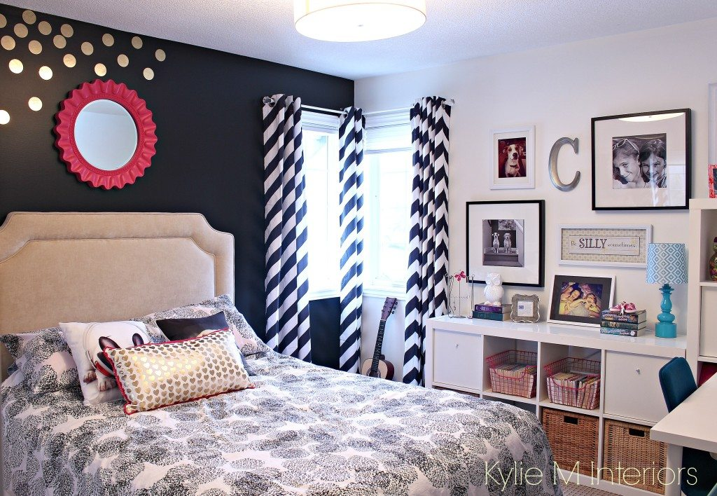 Tween Or Teen Color And Decorating Ideas Black And
