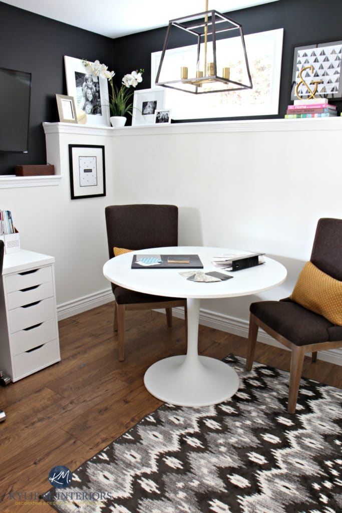 My Home Office Makeover A Black And White Affair