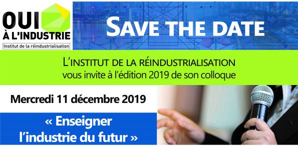 Colloque 2019 Enseigner l'industrie du futur