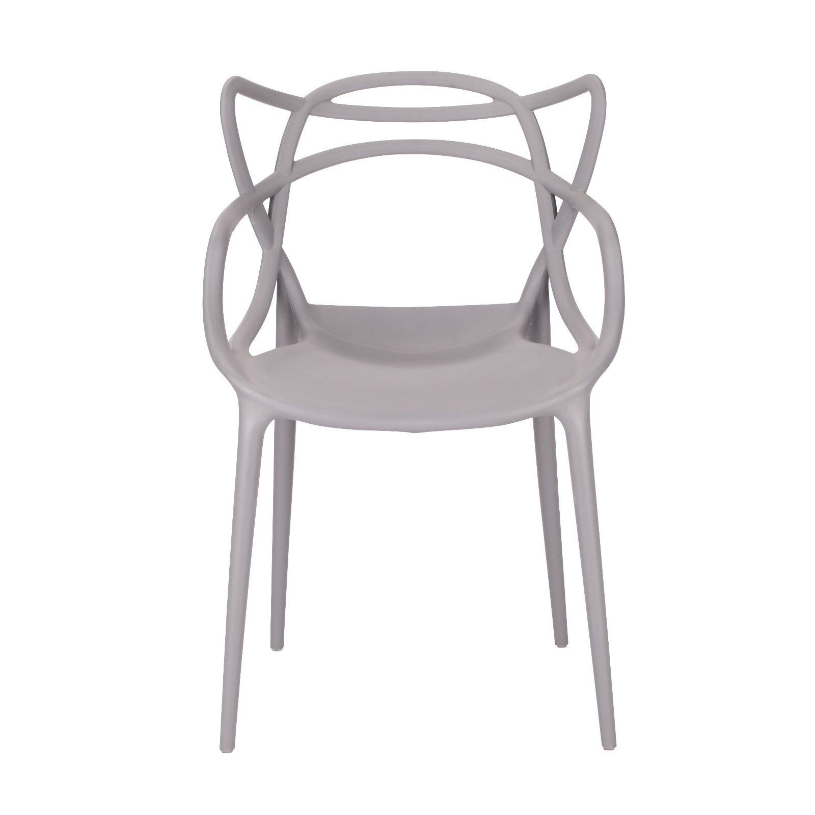 Moulded Grey Dining Chair Furniture La Maison Chic