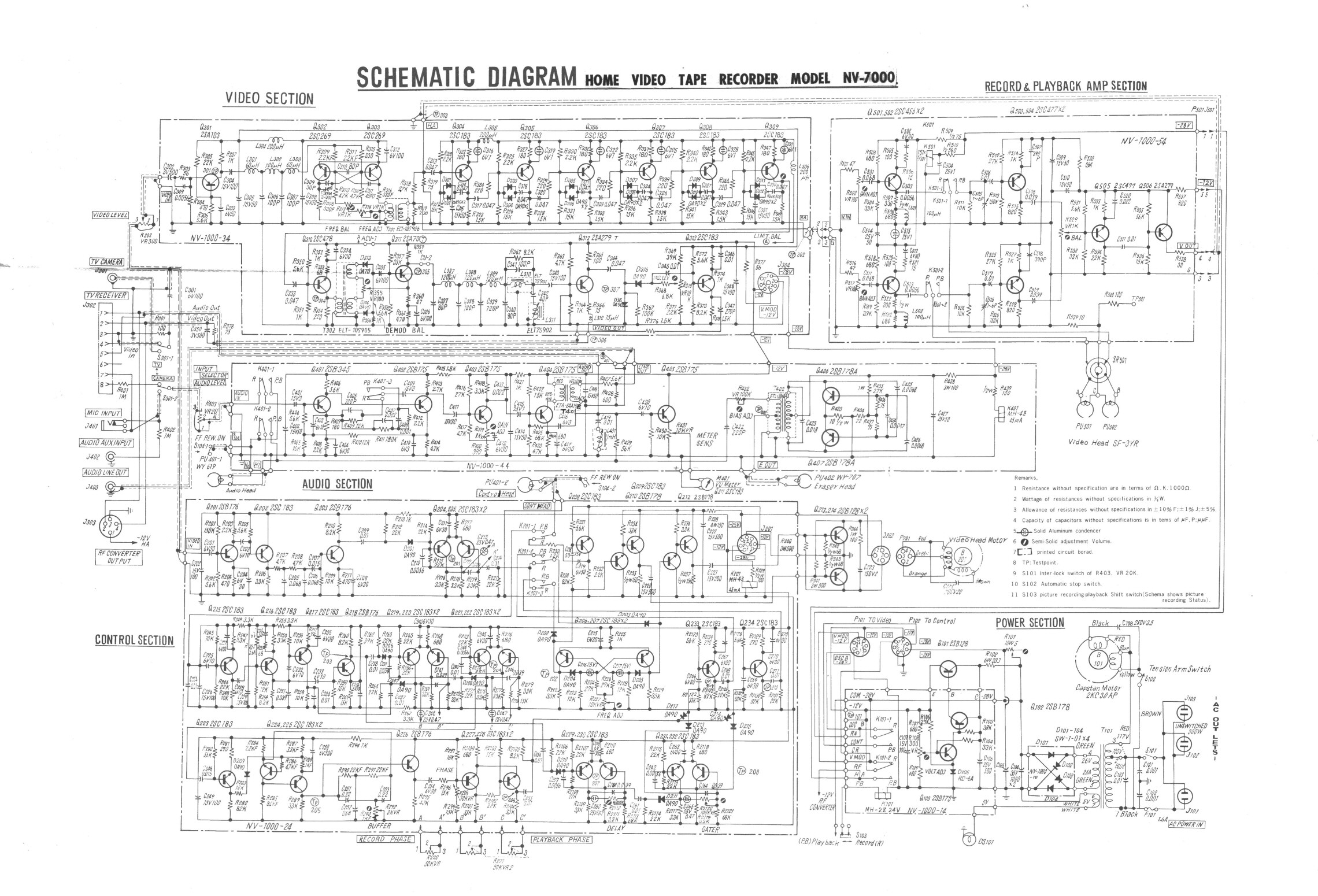Pip And Vcr Wiring Diagram Detailed Schematics Cable Box Tv