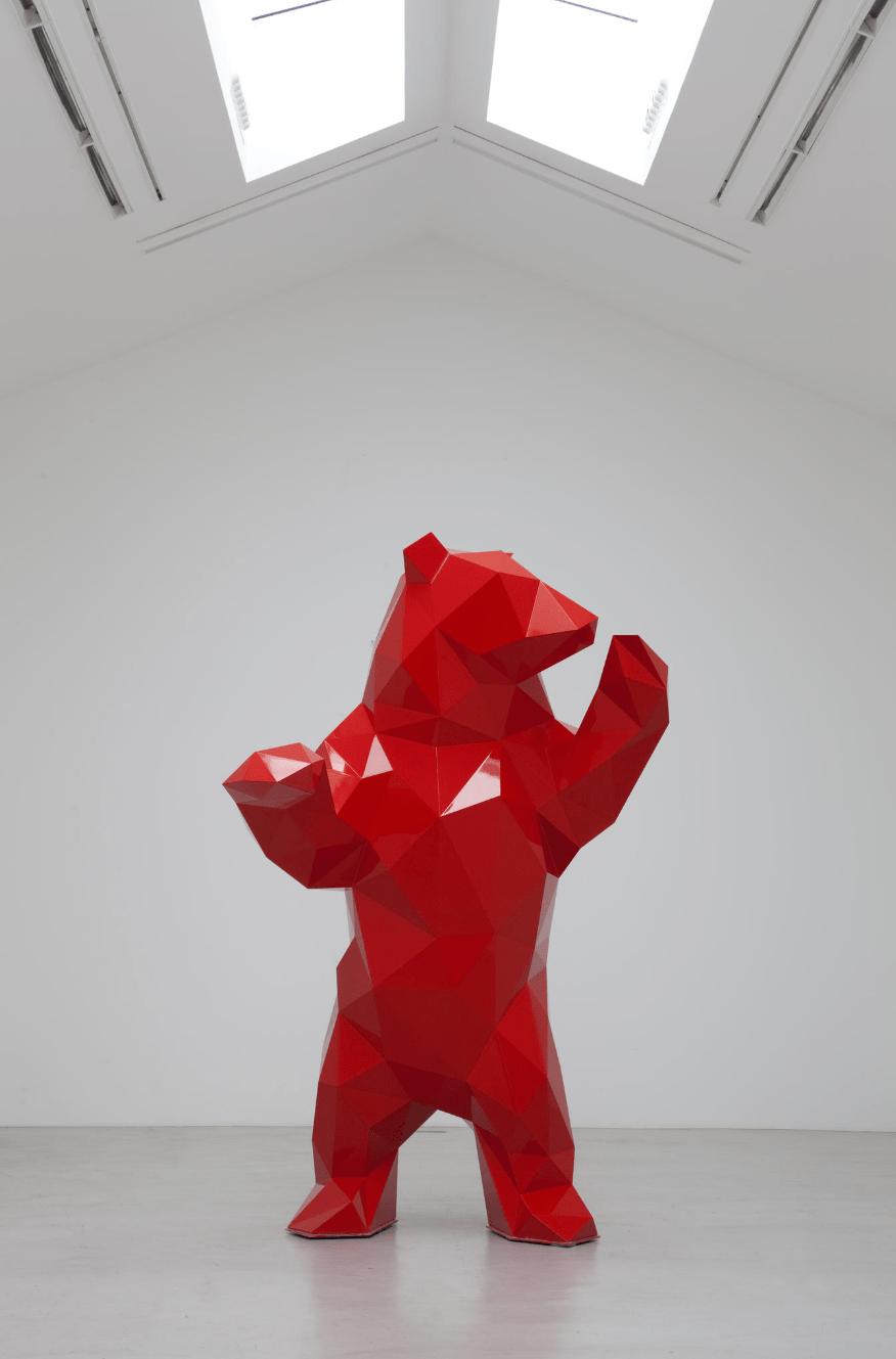 Les Sculptures 224 Facettes De Xavier Veilhan