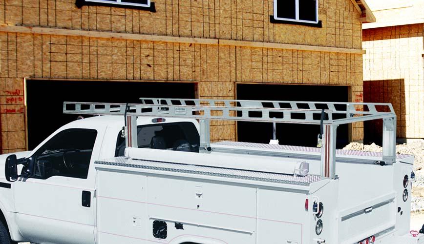Service Body Utility Body Ladder Racks Truck Racks
