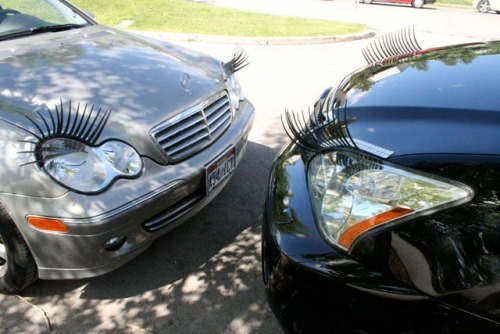 Ladies' GadgetsPersonalize Your Car With Eyelashes and ...