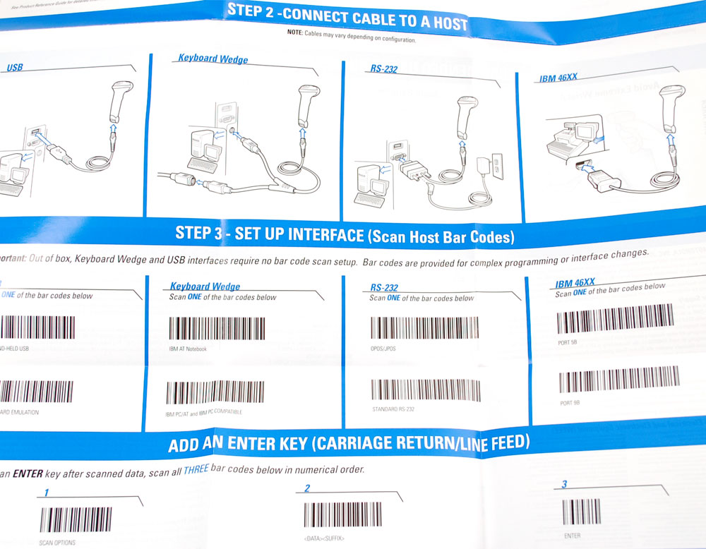 Symbol Barcode Scanner Programming Sheet Image Collections Meaning