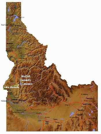 Lake Cascade In Donnelly Idaho And Cascade Idaho