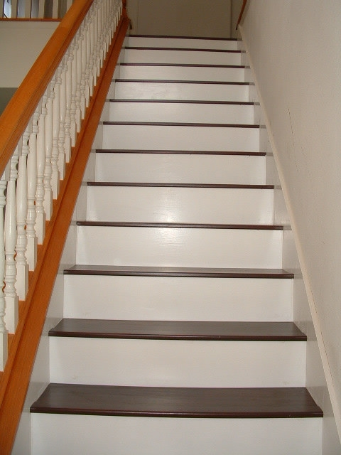 Staircase Redo On Pinterest Stair Runners Carpets And | Adding Carpet To Stairs