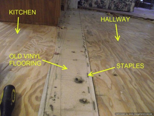 Mobile Homes Removing Vinyl Flooring  Floor Prep for Mobile Homes When installing laminate flooring in mobile homes removing the old vinyl  and staples may be necessary
