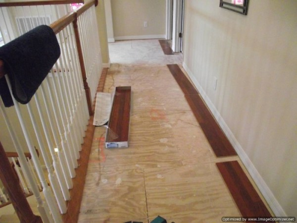 Installing Laminate Flooring in Hallways  Do It Yourself Quick step slate tile
