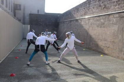 Sport and its values are invited to the Tulle detention middle (Corrèze)