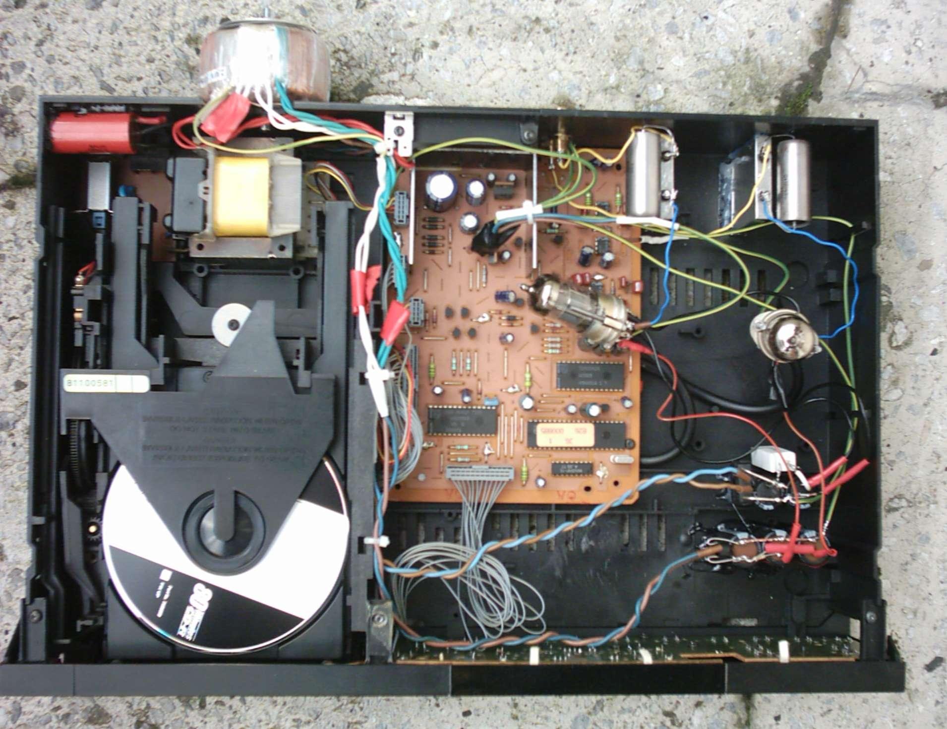 Cd 8100 Grundig Cd Player Lampizator Tubes Valve