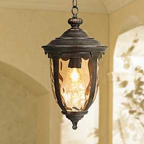 Outdoor Lighting Fixtures   Porch  Patio   Exterior Light Fixtures     Hanging Lights