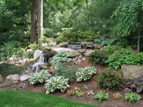 Ideas Edging Natural Pond