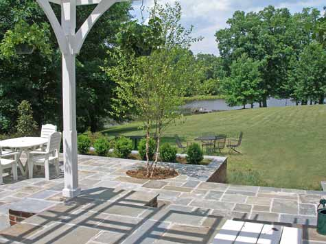 Two Level Bluestone Patio Costs