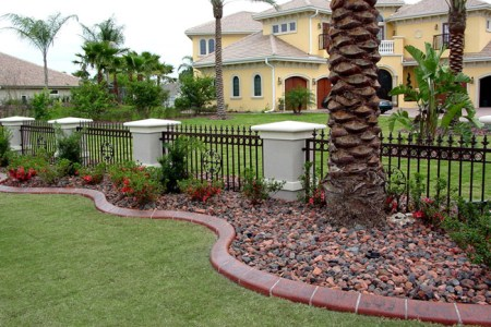 Orlando Kwik Kerb Design   Concrete Curbing and Landscape Design Now  with the use of continuous concrete curbing  beautifully manicured  landscapes with attractive and permanent landscape borders can be seen in