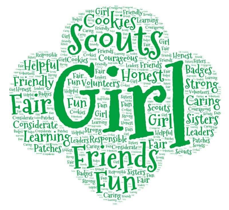 Girl Scout Trefoil Clip Art