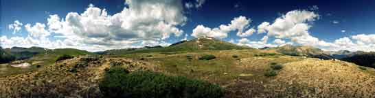 Aurora Colorado Rocky Mountain Panoramic