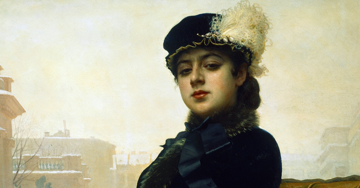 Foreigners: Portrait of an Unknown Woman | Lapham's Quarterly