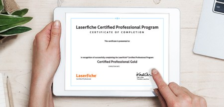 Enterprise Content Management  ECM    Laserfiche Expand your opportunities by becoming Laserfiche Certified