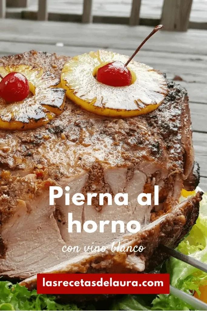 Receta Jamon Pina Con Y De Cerezas