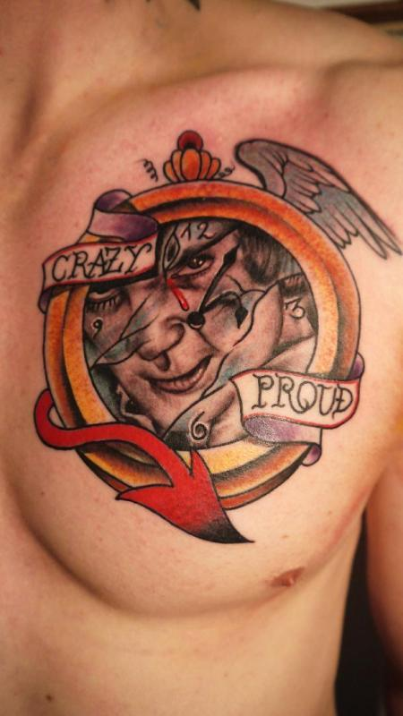 Statue Tattoo Clockwork Orange