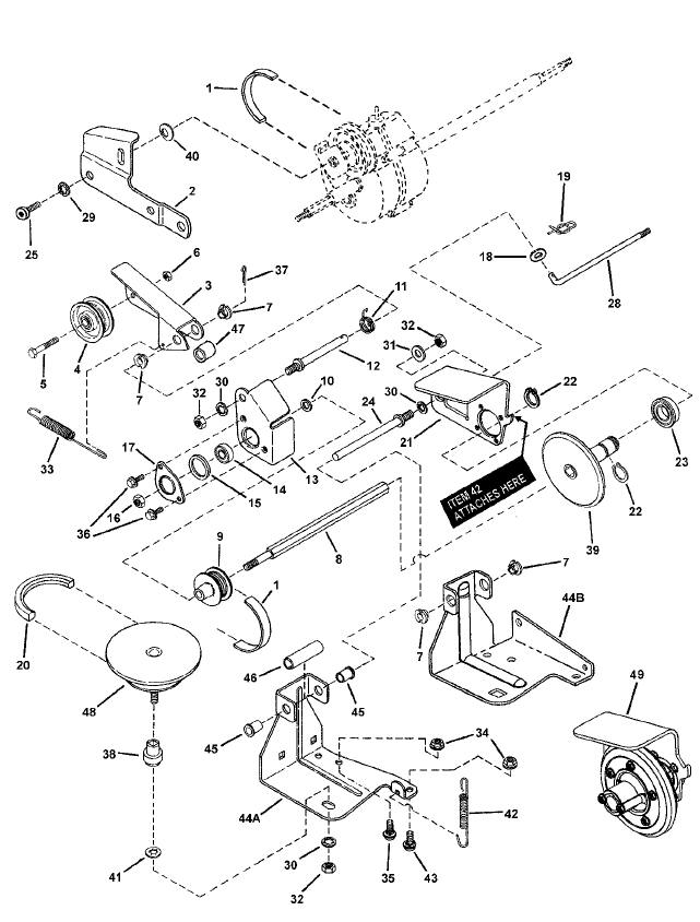 Dynamark Riding Mower Parts Diagram