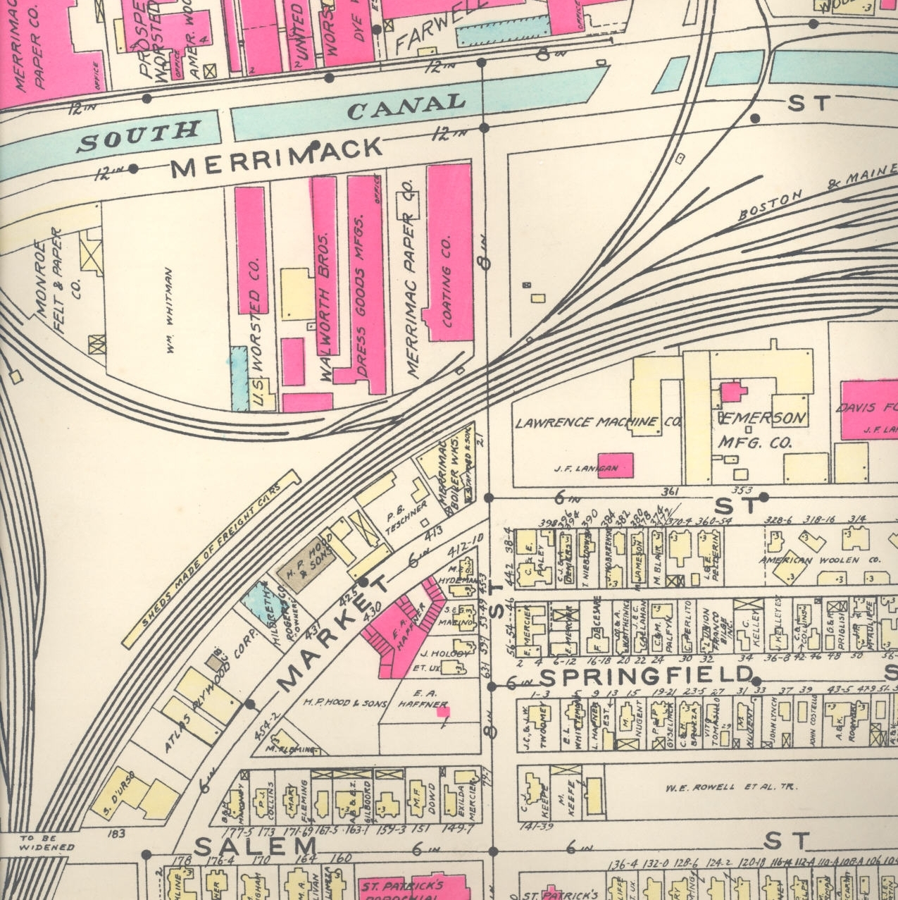 Lawrence Ma Zoning Maps