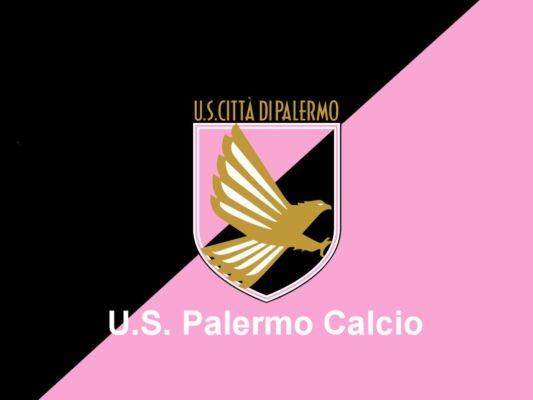 Il logo dell'US Palermo calcio