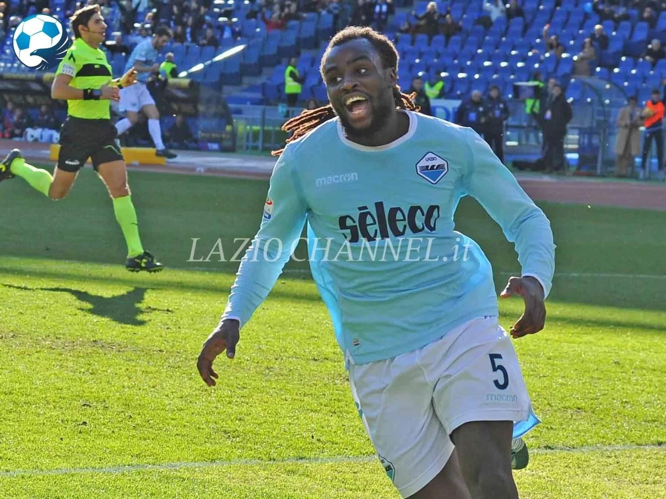 Jordan Lukaku esterno della Lazio