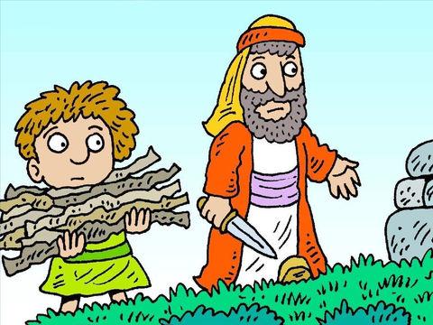 abraham and isaac # 47